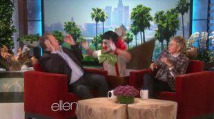 Ellen DeGeneres da un susto de muerte a Eric Stonestreet