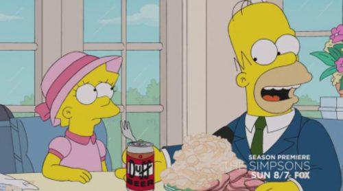 Anuncio del capítulo de 'Los Simpson' en el que un personaje morirá