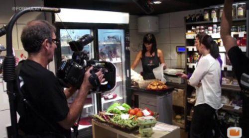 Nos colamos en una jornada de grabación del programa 'Yo amo mi mercado', de Canal Cocina
