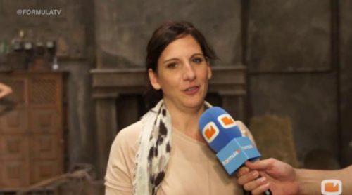 """Malena Alterio: """"No estaré en 'LQSA', porque ahora me voy a enrabiar, pero esa puerta siempre ha estado entornada"""""""