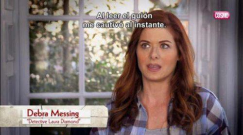 "Debra Messing ('The Mysteries of Laura'): ""Al leer el guion me cautivó al instante"""