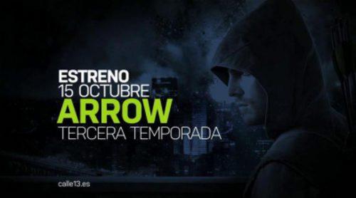 Promo de la tercera temporada de 'Arrow' en Calle 13