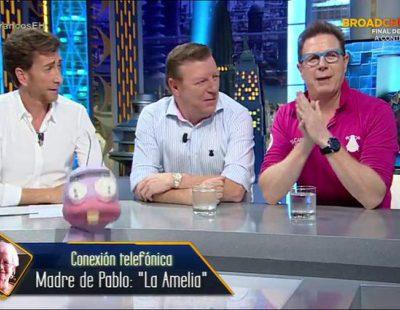 """Jorge Cadaval en 'El hormiguero': """"Aunque estemos en Antena 3, hay que decir que 'Pequeños gigantes' va muy bien"""""""