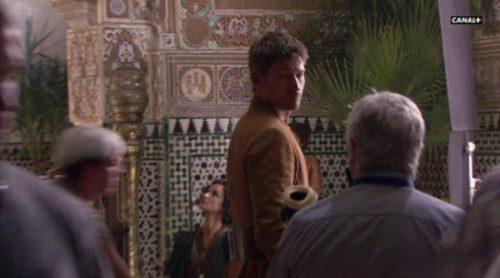 Rodaje de la temporada 5 de 'Juego de tronos' ('Game of Thrones') en Sevilla