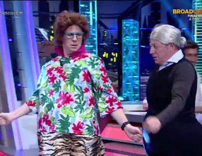 """Los Morancos interpretan en 'El hormiguero' su tema """"¡Mangando!"""""""