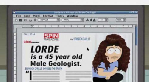 "Sia canta como Lorde en 'South Park': ""Help Me Unload the Car"""