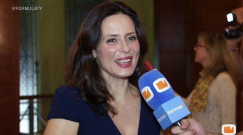 """Aitana Sánchez-Gijón: """"Las secuencias de pasión con Maxi Iglesias las llevo con mucha alegría, es un galán fantástico"""""""