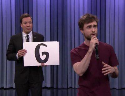 Daniel Radcliffe sorprende en 'The Tonight Show Starring Jimmy Fallon' con su rap del abecedario