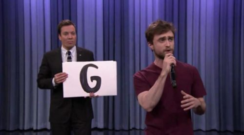 Daniel Radcliffe sorprende en 'The Tonight Show Starring Jimmy Fallon' con su rap del abecedario