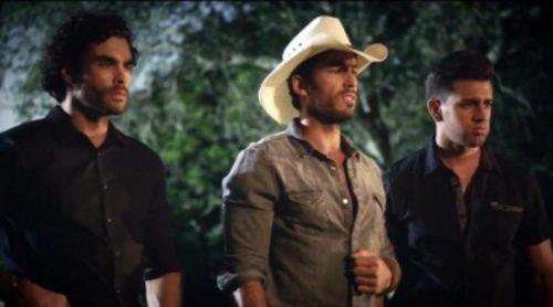 Promo de 'Tierra de Reyes' con Aarón Díaz, Gonzalo García Vivanco y Christian de la Campa