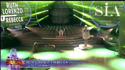¿Tienes ganas de Ruth Lorenzo? Recuperamos su imitación de Sia junto a Rebecca en 'Tu cara me suena Mini'