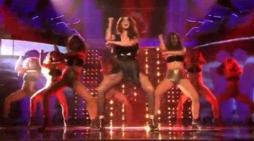"""Ruth Lorenzo presenta """"Gigantes"""" en 'Los viernes al show' con acrobacias y una espectacular coreografía"""