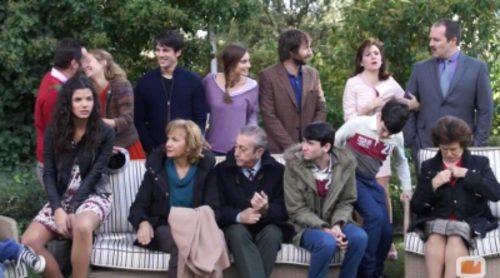 Asistimos a la presentación de 'Algo que celebrar', la nueva comedia familiar de Antena 3, y hablamos con sus protagonistas