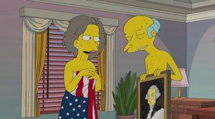 Jane Fonda pone voz a la amante del Sr. Burns en 'Los Simpson'
