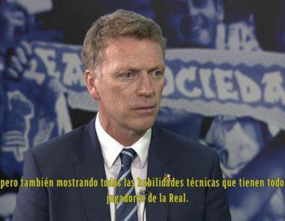 David Moyes, entrenador de la Real Sociedad, habla en 'Espacio reservado' de Canal+