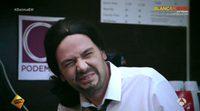 Mariano Rajoy y Pablo Iglesias en la parodia del anuncio de la Lotería de Navidad de 'El hormiguero'