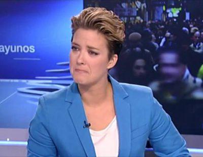 María Casado rompe a llorar en 'Los desayunos de TVE' y pide perdón a Curri Valenzuela