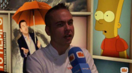 """Víctor Rodrigo: """"Es un poco triste que en 'Top Chef' la parte de reality supere a la de cocina"""""""