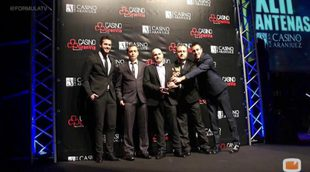 FormulaTV.com entre los galardonados en la entrega de los premios Antena de Oro
