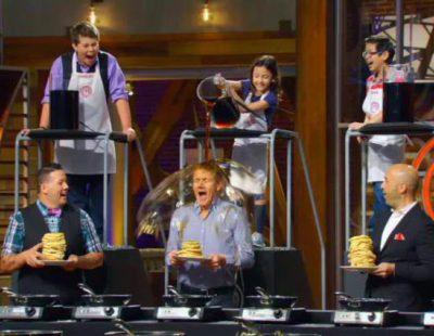 Promo de la segunda temporada de 'MasterChef Junior USA' en Cosmopolitan TV