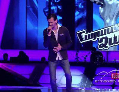 El español David Rodríguez es eliminado en 'The Voice Armenia' tras cantar en armenio