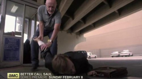 Nuevo teaser de 'Better Call Saul', con la aparición de Mike ('Breaking Bad')