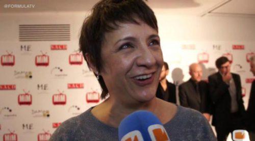 Blanca Portillo, Javier Gutiérrez y Secun de la Rosa en los Premios MIM Series