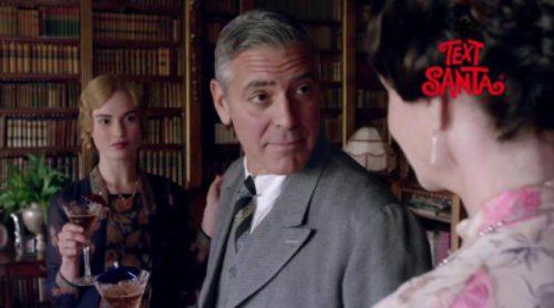 Avance de la aparición de George Clooney en el capítulo benéfico de 'Downton Abbey'