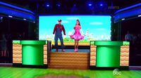 Así recrean la sintonía de Mario Bros en 'Dancing with the stars'