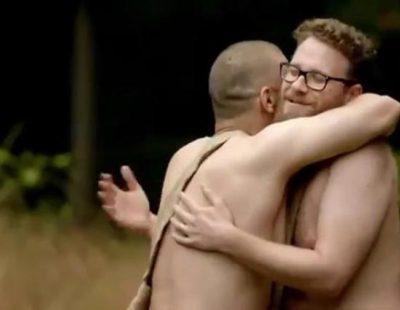 James Franco y Seth Rogen, desnudos y asustados este domingo en 'Naked and Afraid'