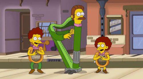 'Los Simpson' se convierten en instrumentos en MusicVille
