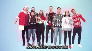 "El villancico navideño de 'Geordie Shore': ""A Parsnip In A Pear Tree"""