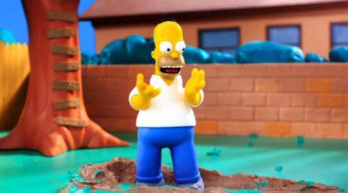 Así parodian 'Los Simpson' a 'RobotChicken'