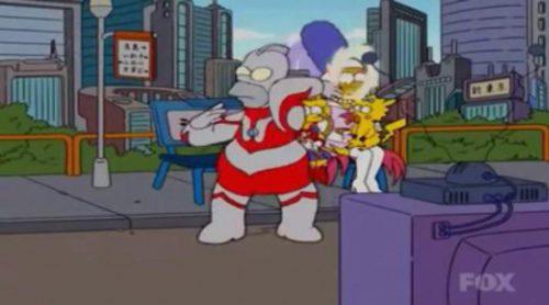 """La cabecera """"made in Japan"""" de 'Los Simpson'"""