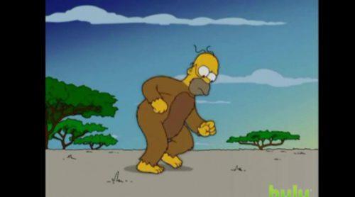 Así repasan 'Los Simpson' la evolución del ser humano