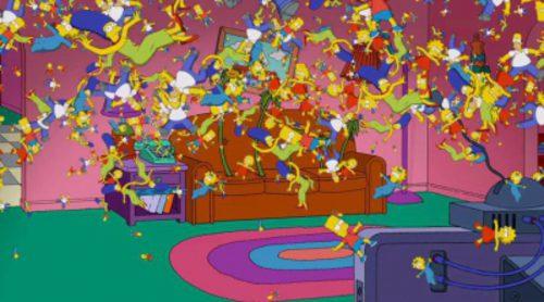 'Los Simpson' son dientes de león en esta cabecera especial