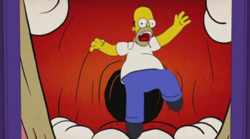 Un pesadilla recorre el cuerpo de Homer en 'Los Simpson'
