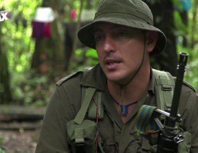 David Beriain ('Amazonas clandestino') entrevista a Ramiro, comandante de las FARC