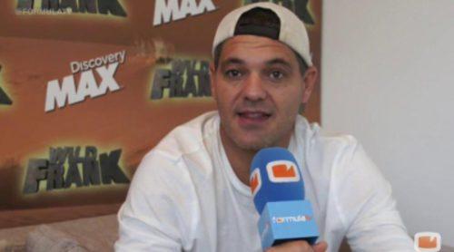 """Frank Cuesta: """"Mediaset nos ha invitado a presentar 'Wild Frank', pero por falta de tiempo no hemos ido"""""""