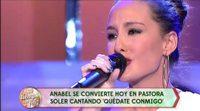 """Anabel Dueñas homenajea a Pastora Soler interpretando su tema """"Quédate conmigo"""""""