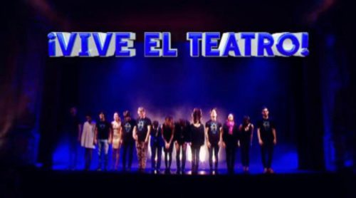 Gran montaje de '¡Qué tiempo tan feliz!' con los protagonistas de las obras teatrales