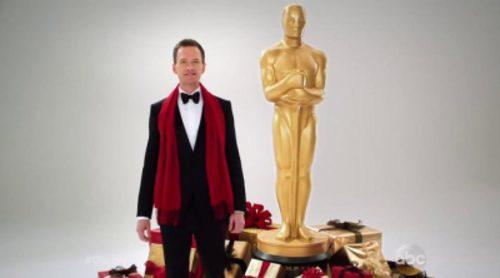 Neil Patrick Harris invita a que esta Navidad se regale el placer de verlo presentar los Premios Oscar