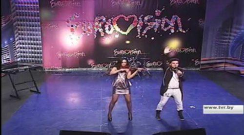"""Uzari & Maimuna interpretan """"Time"""", la canción escogida por Bielorrusia para Eurovisión 2015"""