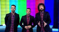 Juan, Damián y Marron hacen campaña para colocar Paramount Channel en el 8 del mando a distancia