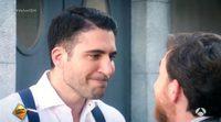 El logopeda Pablo Motos enseña a Miguel Ángel Silvestre a pronunciar 'Velvet'