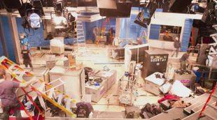 Time lapse de la construcción del nuevo plató de 'The Nightly Show'