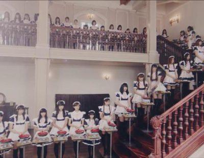 100 criadas japonesas para anunciar unas sartenes antiadherentes