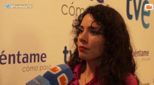 """Ana Arias: """"No me esperaba mi trayectoria en 'Cuéntame', sólo vine para cubrir la salida de Irene Visedo"""""""