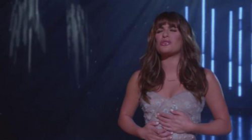 "Lea Michele canta ""Let It Go"" en 'Glee'"