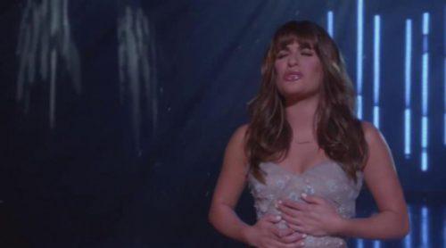 """Lea Michele canta """"Let It Go"""" en 'Glee'"""